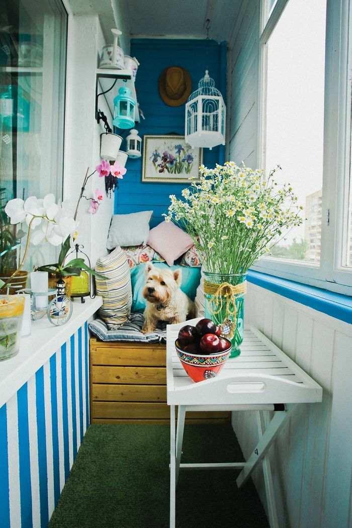 cerramiento azules muebles conceptos blancos