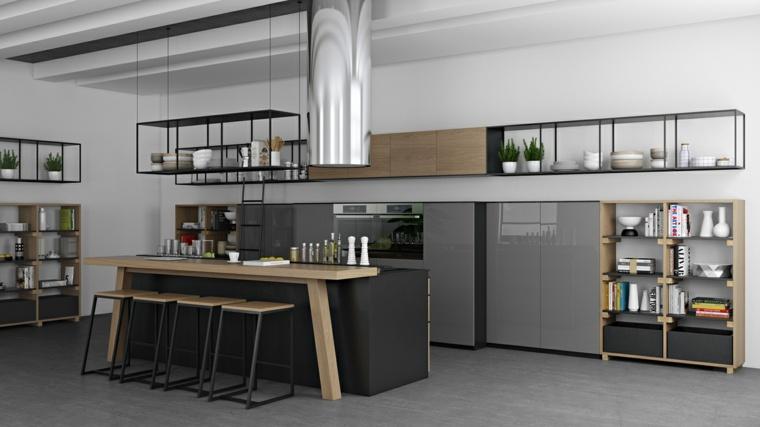 Cocinas modernas 42 espacio pr cticos y funcionales for Cocina definicion arquitectura