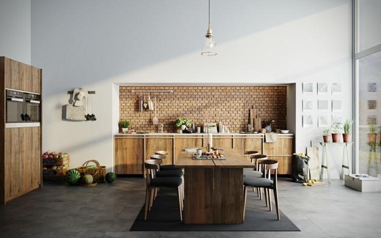 Dise os de cocinas estilo industrial elegante y atractivo - Diseno cocina industrial ...
