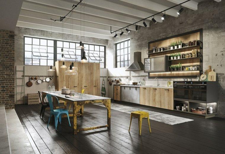 cocina-diseno-industrial-moderno-detalle-colores-brillantes