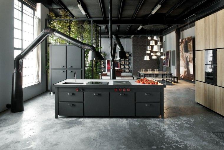 cocina diseno industrial moderno silvio stefani ideas