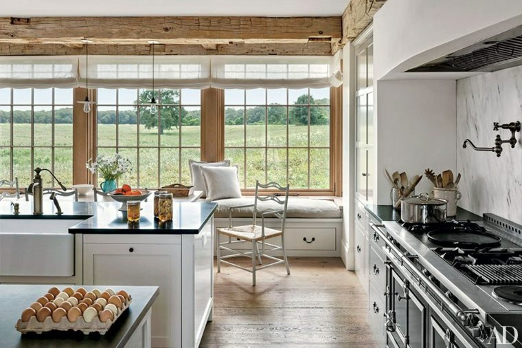 cocina rústica diseño moderno