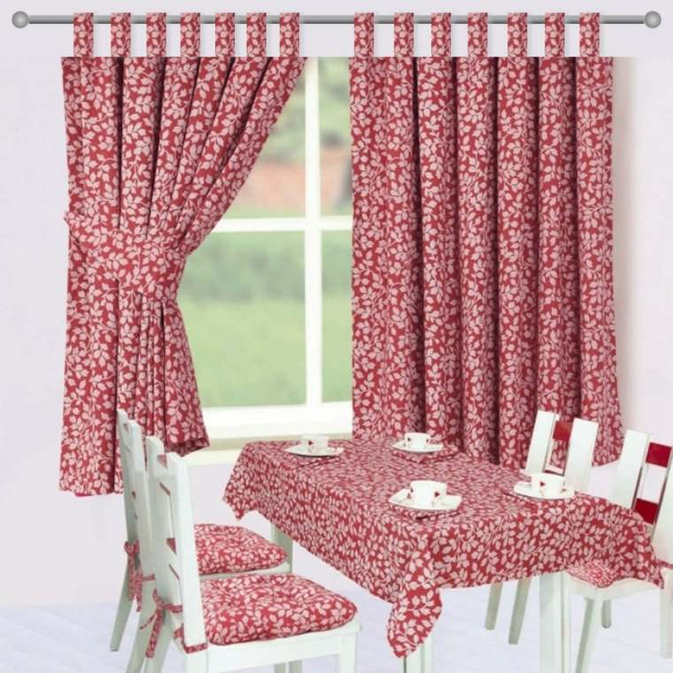cocinas con cortinas