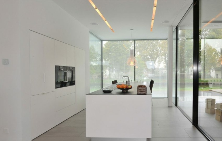 Cocinas modernas   42 espacio prácticos y funcionales