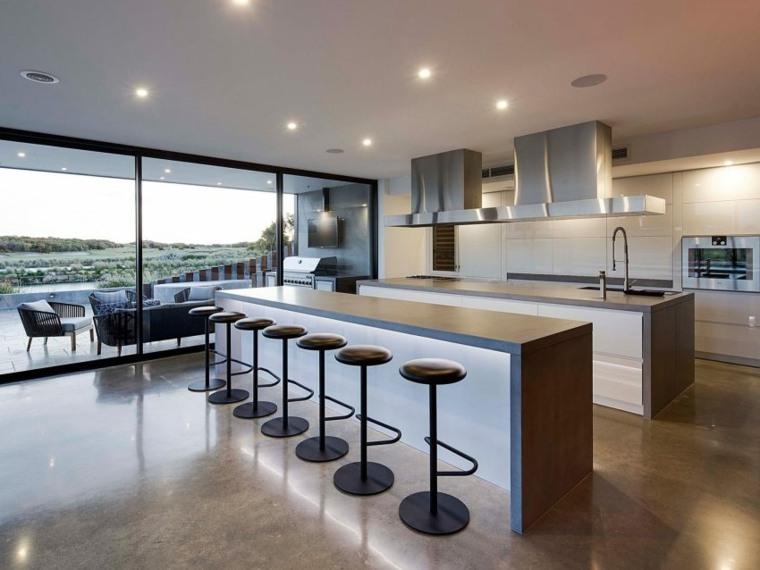 cocinas modernas diseno espacios amplios Lachlan Shepherd Architects ideas