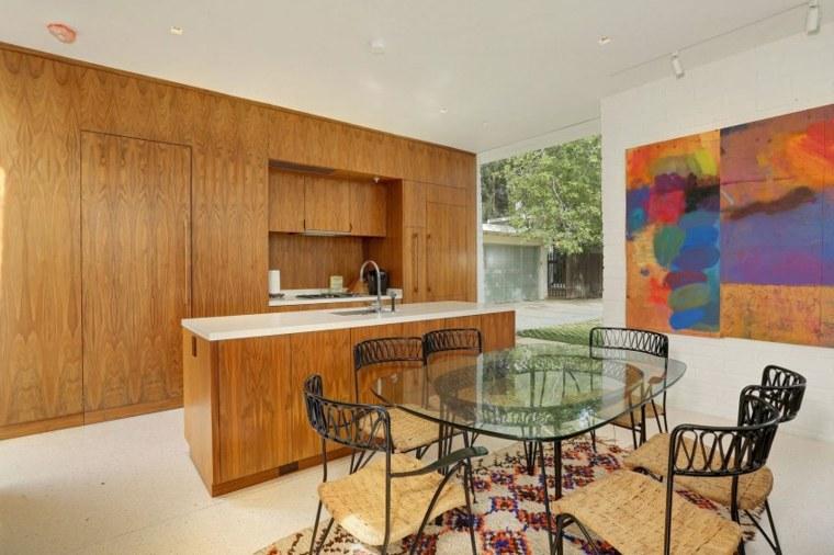 cocinas modernas diseno madera Struere ideas