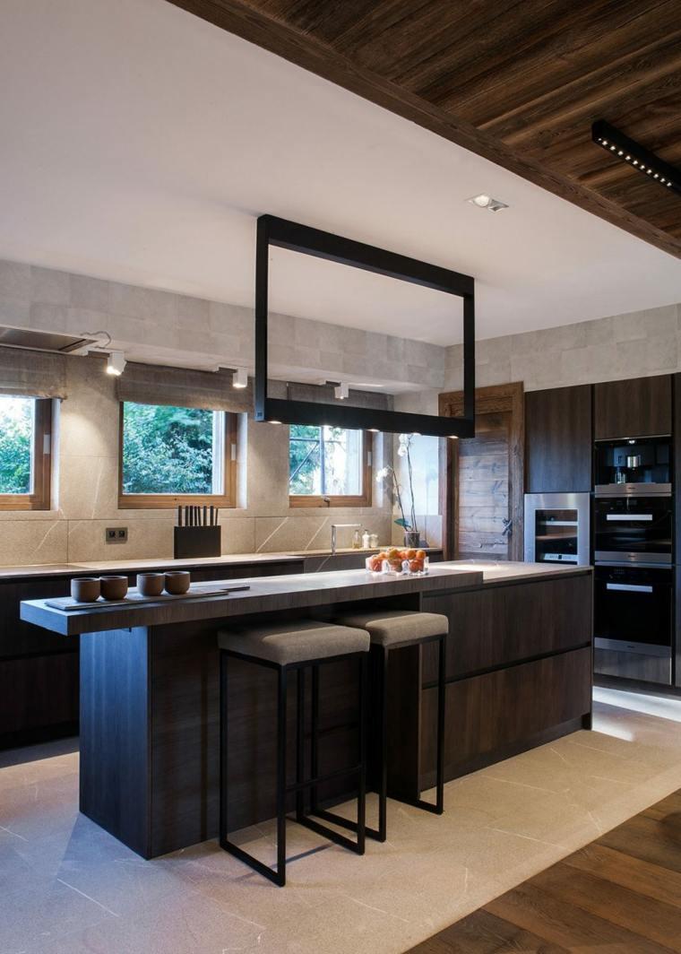 cocinas modernas diseno muebles madera Refuge architecture d intérieur ideas