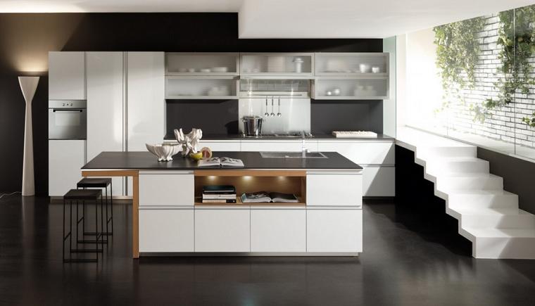 Cocinas modernas fotos de dise os asombrosos y funcionales for Fotos para cocinas modernas