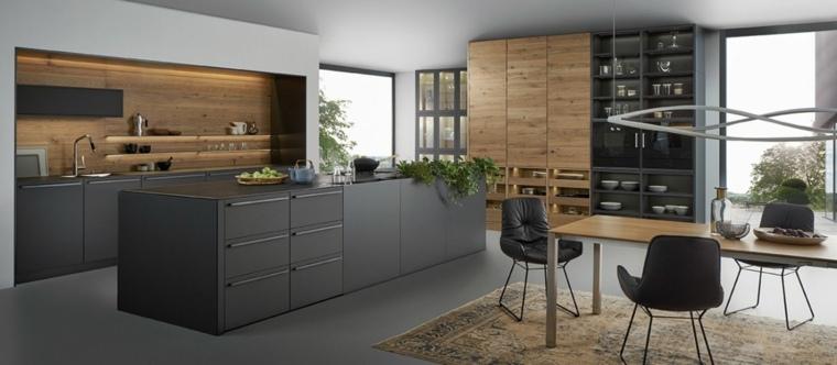 cocinas modernas fotos salones cafe materiales