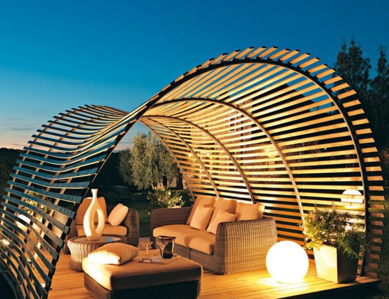 cojines salones exteriores muros conceptos formas