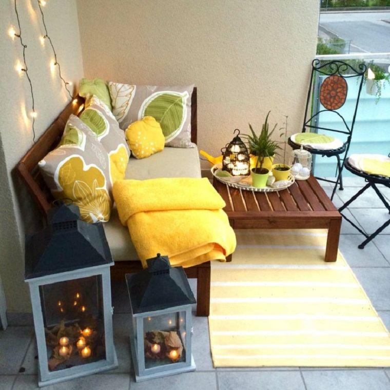 rincón terraza estilo chill