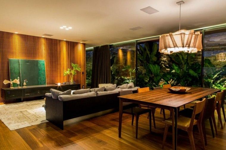 comedor madera alfombras salones calidas