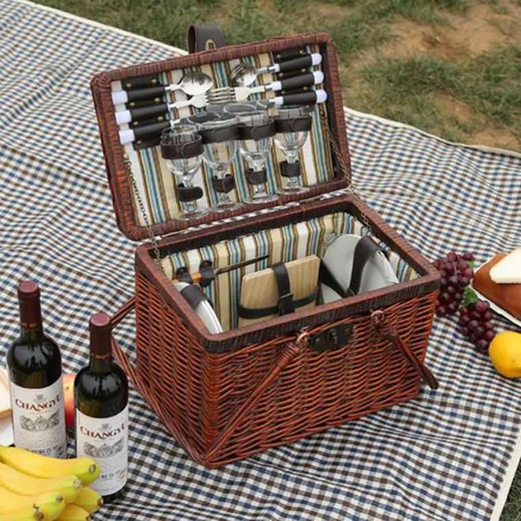 comida para picnic campo
