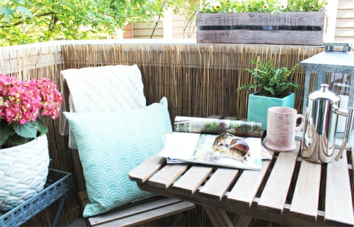 Como decorar un balcon peque o m s de cuarenta ejemplos for Como decorar un antejardin pequeno