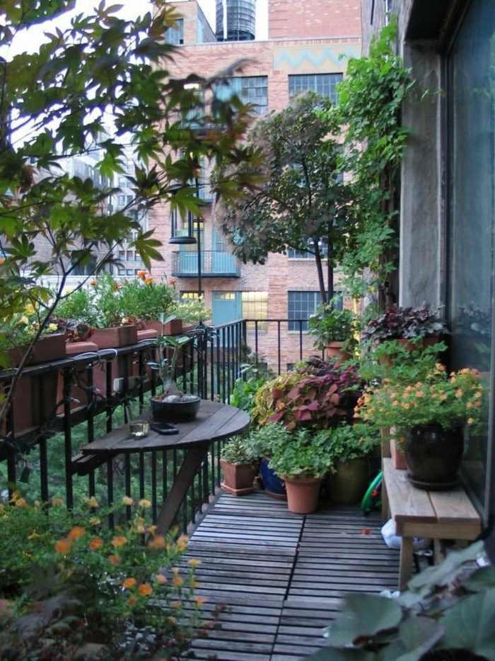 como decorar un balcon pequeño elegantes variaciones decoraciones