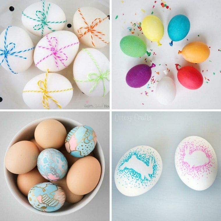 decorar huevos originales
