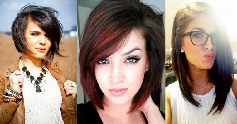 Cortes de pelo en largo modernos
