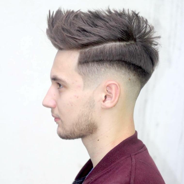 cortes de pelo hombre chico moderno