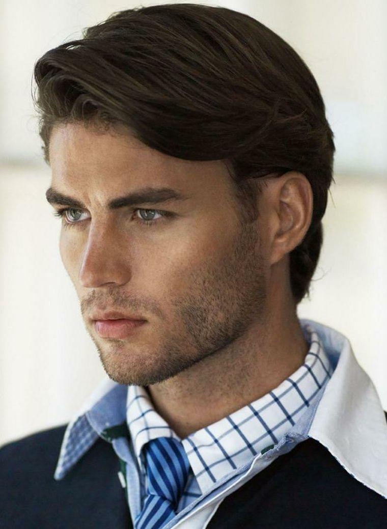 cortes de pelo hombre moderno elegante