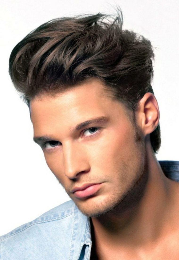 cortes de pelo hombres largo