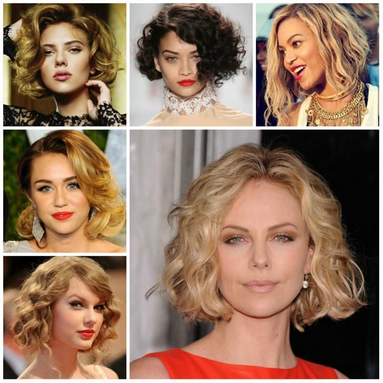 cortes de pelo rizado mujeres