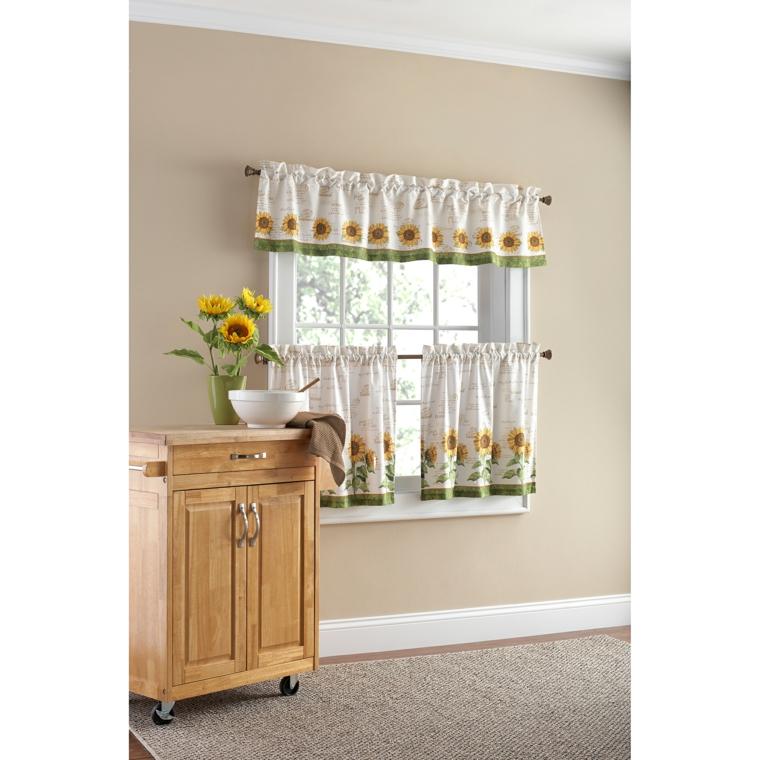 cortina cocina decoración interior