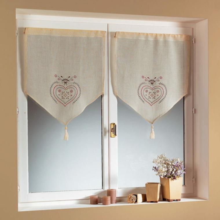 cortina cocina interior