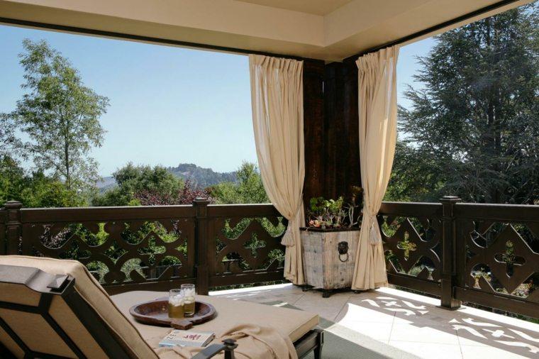 original terraza cortinas beige