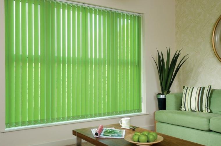 originales cortinas bandas verticales