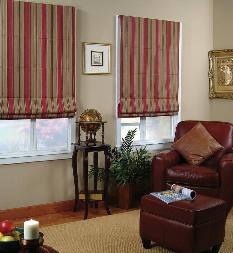 cortinas enrollables bandas verticales
