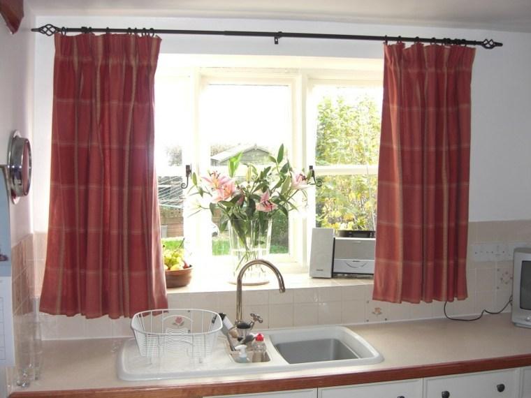 cortinas cocina decorar