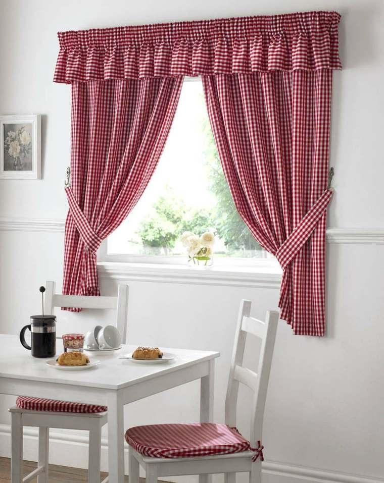 Cortina cocina unos modelos y dise os muy originales - Diseno de cortinas de cocina ...