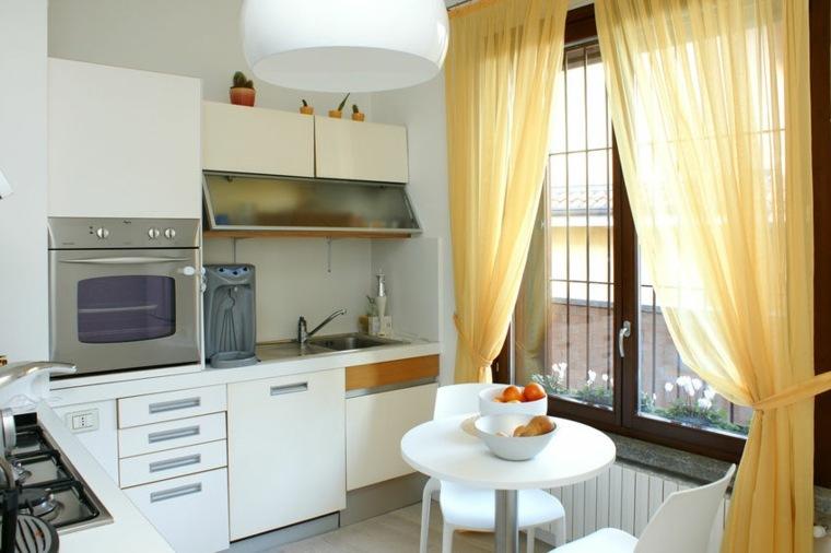 cortinas de cocinas decorar