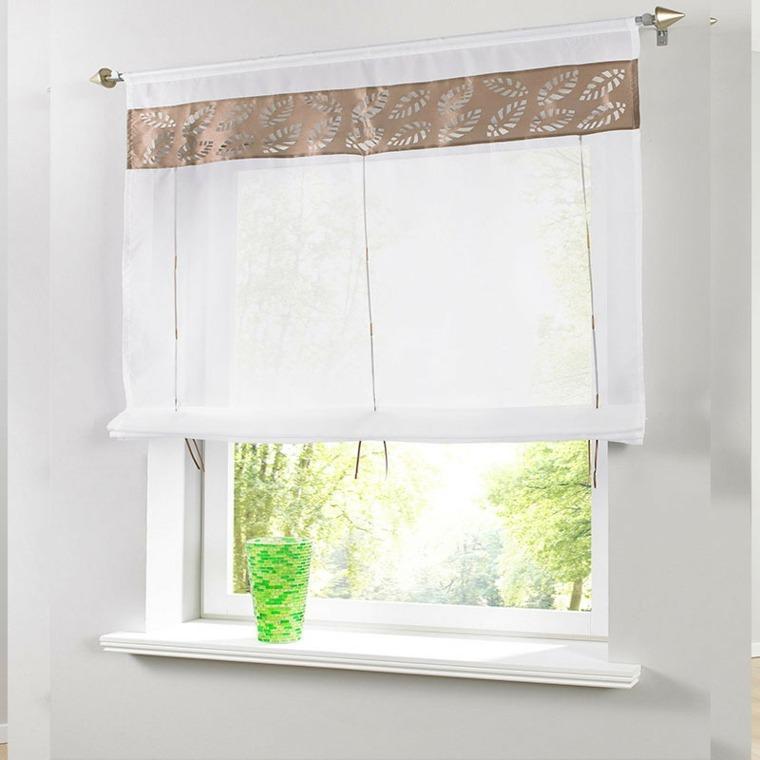 Cortina cocina unos modelos y dise os muy originales - Para colgar cortinas ...
