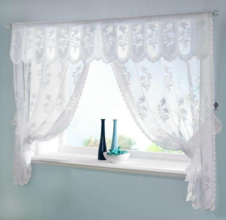 cortinas ideas frescas vaporosas puertas