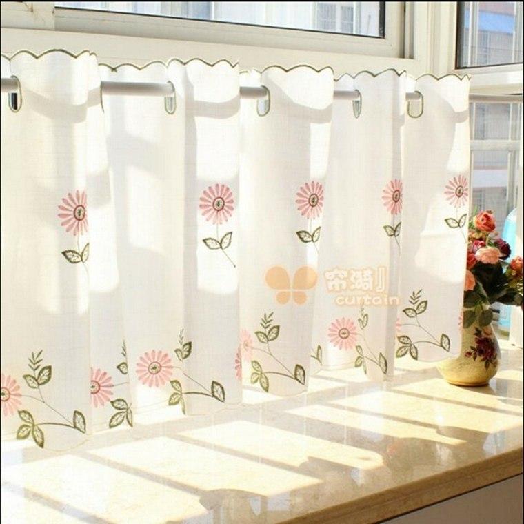 Cortinas ideas para llenar de estilo las ventanas peque as - Ideas cortinas cocina ...