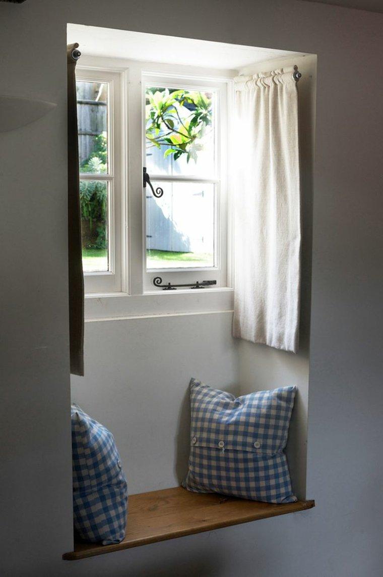 cortinas ideas muestra rincon lectura estilos