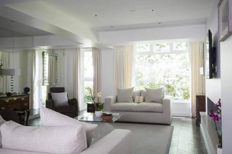 Cortinas para ventanas abatibles dise os funcionales y - Cortinas para ventanales grandes ...