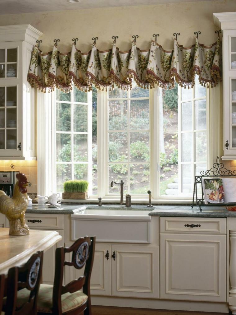 Cortinas para cocina las mejores opciones para dise os - Decoracion cortinas de cocina ...
