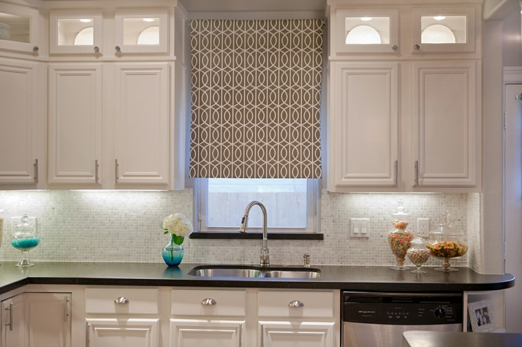 cortinas para cocina partes especiales colores neutrales