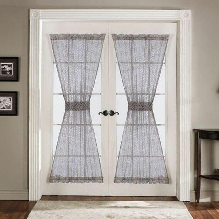 cortinas para puertas de cocina para decorar el interior
