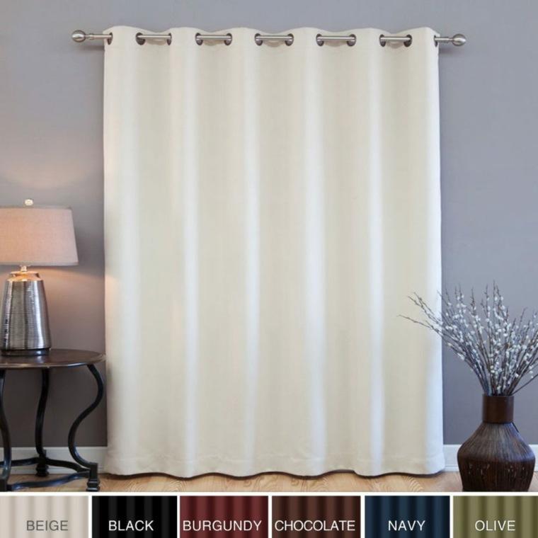 cortinas para puertas de cocina decoración interiores