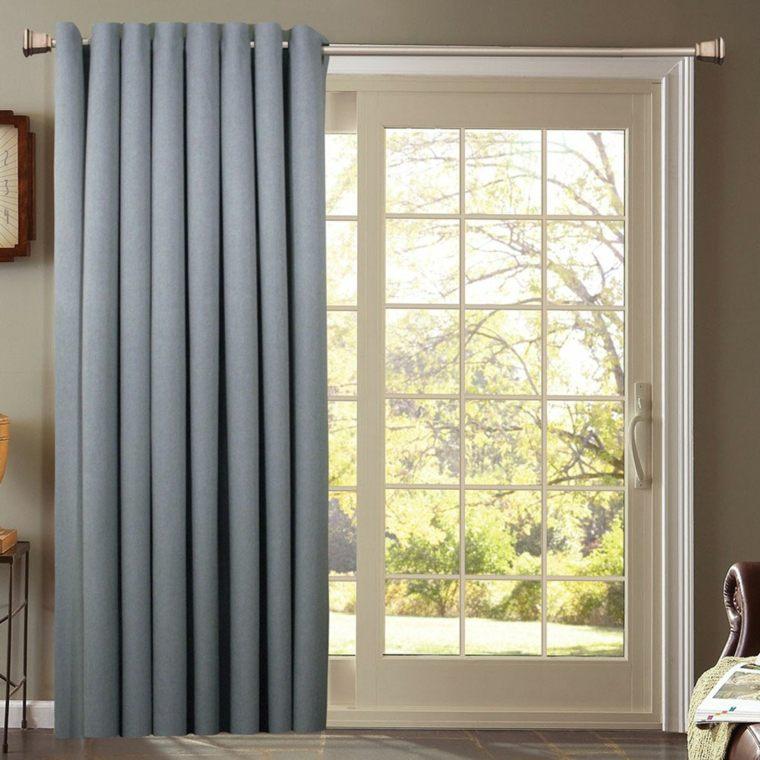 cortinas para puertas de cocina decorar interiores
