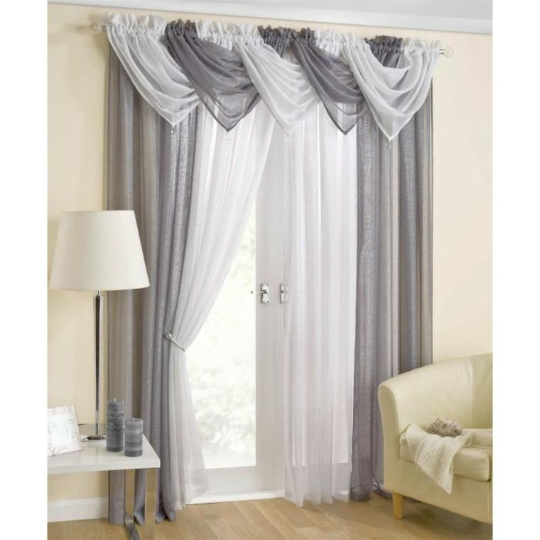 Cortinas para puertas de cocina para decorar el interior for Como poner ganchos de cortinas