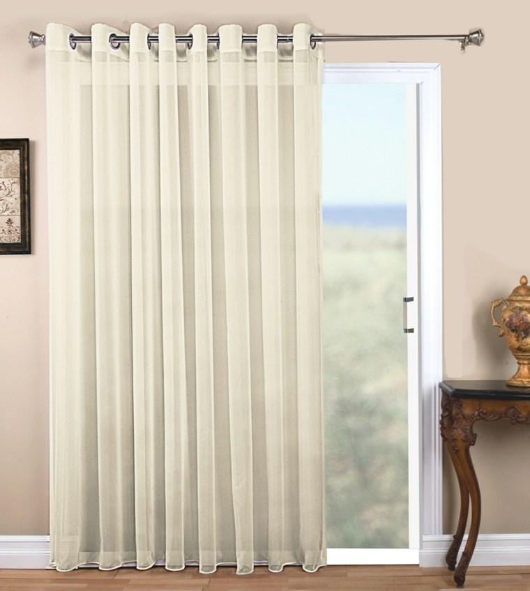 cortinas para puertas de cocina elegantes