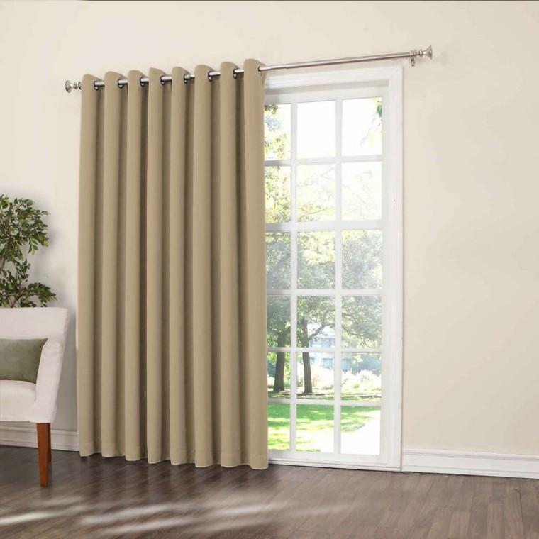 Cortinas para puertas de cocina para decorar el interior for Cortinas para exterior