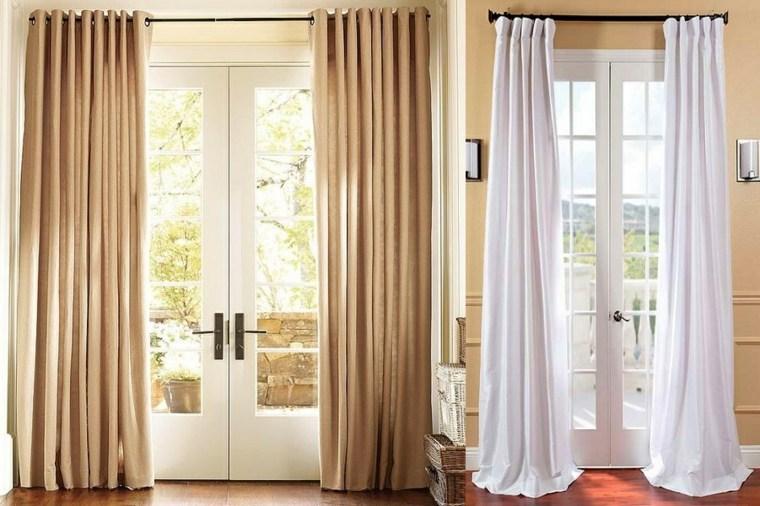 cortinas para puertas de cocinas decorar
