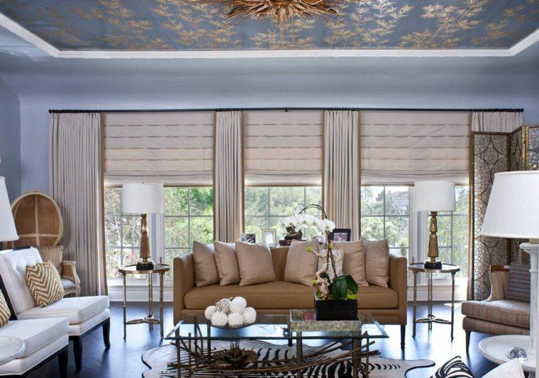originales cortinas sala estar