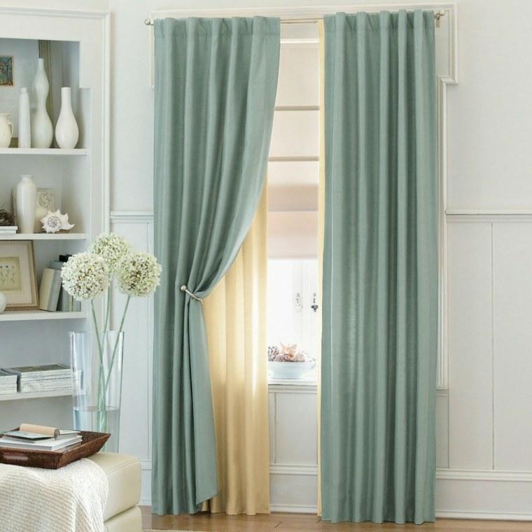 cortinas para ventanas oscilobatientes dormitorio