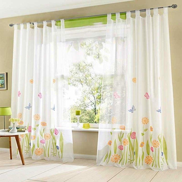 Cortinas para ventanas oscilobatientes para decorar el for Decoracion cortinas